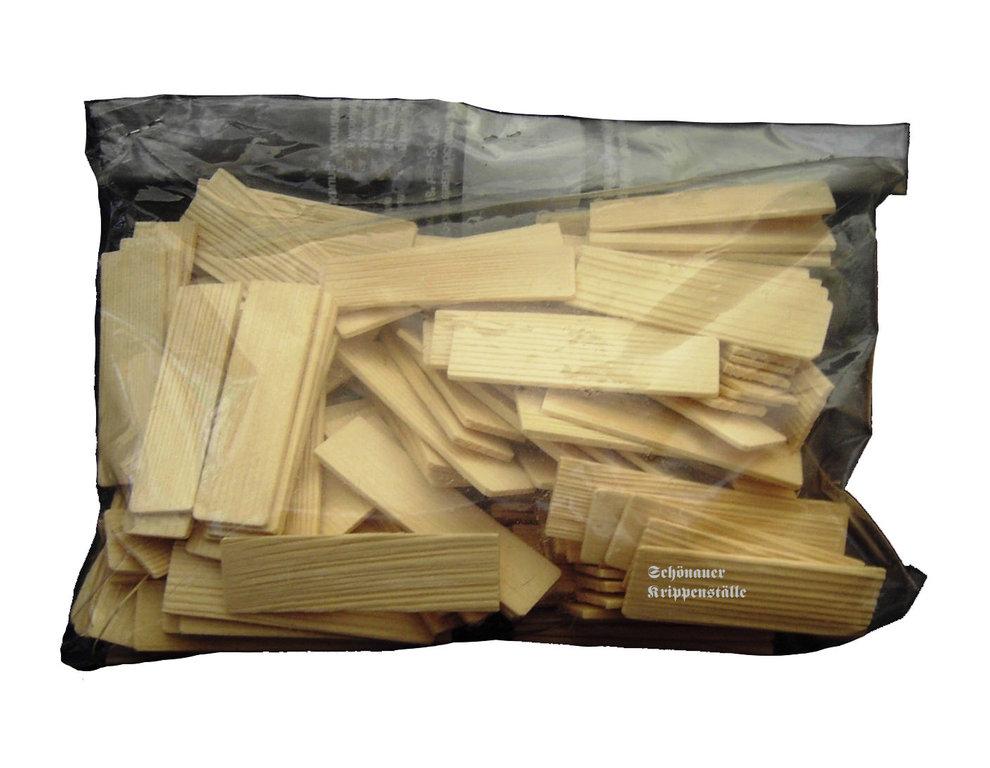 holzschindeln lose im beutel krippenbau material g nstig kaufen. Black Bedroom Furniture Sets. Home Design Ideas
