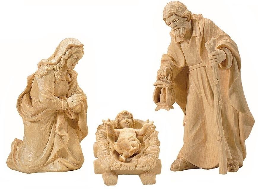 Krippenfiguren Handgeschnitzt rives krippenfiguren, hl. familie - schönauer krippenställe